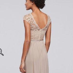 b0b8b2d7803 Davids Bridal Dresses - Davids Bridal Long Mystic Bridesmaid Dress F19328
